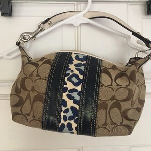 Vintage Coach small handbag